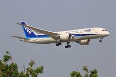 ANA samoloty zdjęcie stock