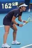 Anabel Medina Garrigues (ESP), professional tennis Royalty Free Stock Photography