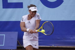 Anabel Medina Garrigues in WTA Prague open Royalty Free Stock Images
