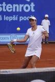 Anabel Medina Garrigues in WTA Prague tournament Royalty Free Stock Photos