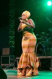 Anabela Aya, Angola Kriol Jazz Festival stockbild