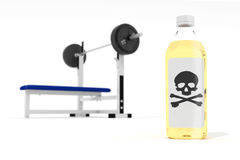 Anabolic steroids concept Stock Photography