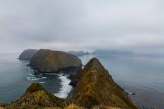 Anacapa海岛 库存图片