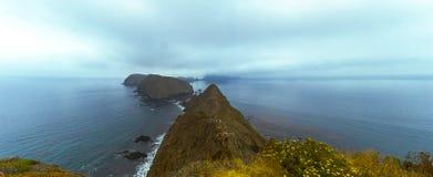 Anacapa-Insel-Panorama stockfotografie