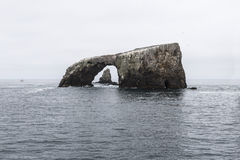 Anacapa Island California Sea Arch Stock Photography