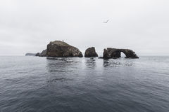 Anacapa Island at Channel Islands National Park Stock Photos