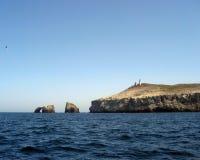 Anacapa Island Landscape Royalty Free Stock Photography