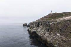 Anacapa Island Lighthouse Hill California royalty free stock images