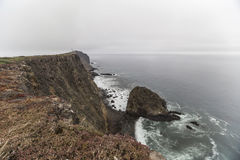 Anacapa Island Sea Cliff California. Anacapa island sea cliff at Channel Islands National Park in Southern California Stock Photography