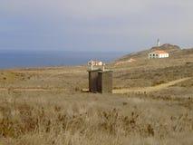 Anacapa Outhouses Obraz Stock