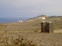 Anacapa Outhouses Stock Image