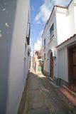 Anacappri street, Italy. Royalty Free Stock Photography