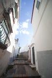 Anacappri street, Italy. Stock Photos
