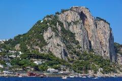 Anacapri, νησί Capri, Μεσόγειος, Ιταλία Στοκ Φωτογραφίες