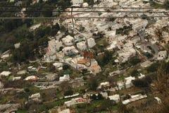 Anacapri cableway Arkivfoto