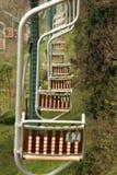 Anacapri cableway Arkivfoton