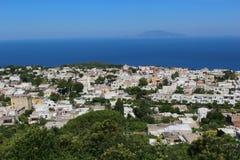 Anacapri on the island of  Capri, Italy Stock Image