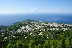 Anacapri Town - Italy Stock Photo