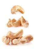 Anacardes rôtis Photo stock