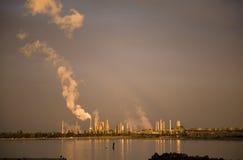 Anacortes华盛顿精炼厂 库存照片