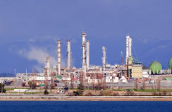 Anacortes Oil Refinery Royalty Free Stock Photos