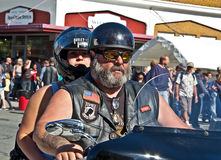 ANACORTES, WA - SEPTEMBER 27 - Partcipant of 28th Annual Oyster Royalty Free Stock Photos