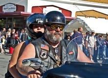 ANACORTES, WA - 27 settembre - Partcipant della ventottesima ostrica annuale Fotografie Stock Libere da Diritti