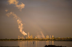 Anacortes Washington Refinery Stock Foto's