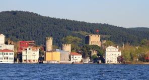 Anadolu Hisari Fotografering för Bildbyråer