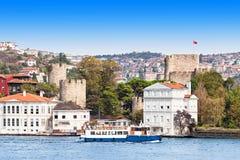 Anadolu Hisari, Turkey Royalty Free Stock Photos