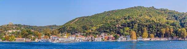 Anadolu Kavagi by royaltyfria foton