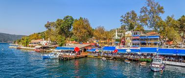 Anadolu Kavagi village Royalty Free Stock Photo