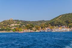 Anadolu Kavagi village Royalty Free Stock Images