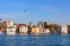 Anadoluhisarı (Anatolian Castle) in Istanbul Stock Photos