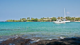 anaeho plażowy omalu park Obraz Royalty Free
