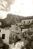 Anafiotika - Atenas Foto de archivo libre de regalías