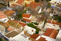 Anafiotika neighborhood Stock Image