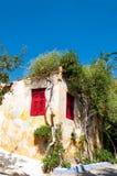 Anafiotikabuurt van Athene Stock Foto's