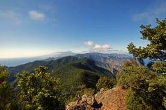从Anaga山的看法 免版税库存照片