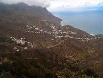 Anaga,加那利群岛 图库摄影