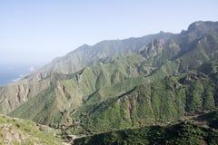 Anaga Berge Stockbild