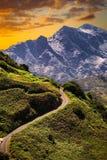 Anaga góra w Tenerife, Hiszpania, Europa zdjęcie royalty free
