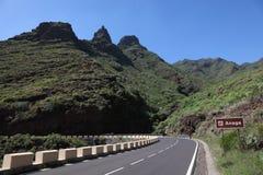 anaga góry Tenerife Obraz Stock