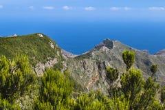 Anaga góry, Tenerife, Hiszpania Zdjęcia Royalty Free