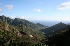 Anaga mountain in Tenerife Royalty Free Stock Image