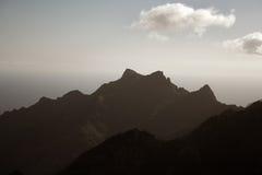 Anaga mountain in Tenerife Stock Images