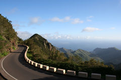 Anaga mountain in Tenerife. Island, Canary, Spain Stock Photography
