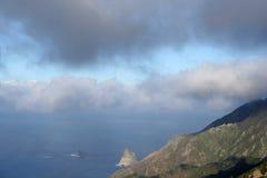 Anaga mountain in Tenerife Stock Photography