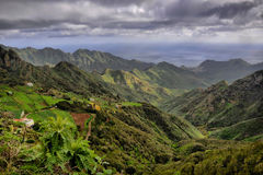 Anaga mountains Royalty Free Stock Photography