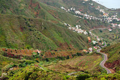 Anaga Mountains in Tenerife Stock Photography